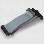 Videk Multi 68 way SCSI Ribbon Cable 0.90m Grey SCSI cable