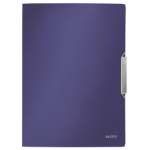 Leitz Style 3-Flap Polypropylene (PP) Blue folder