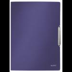 Leitz Style 3-Flap Polypropylene (PP) Blue folder