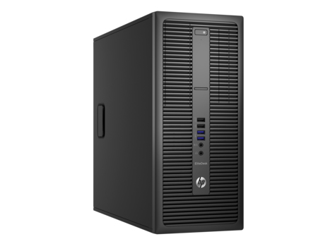HP EliteDesk 800 G2 3.7GHz i3-6100 Micro Tower Black