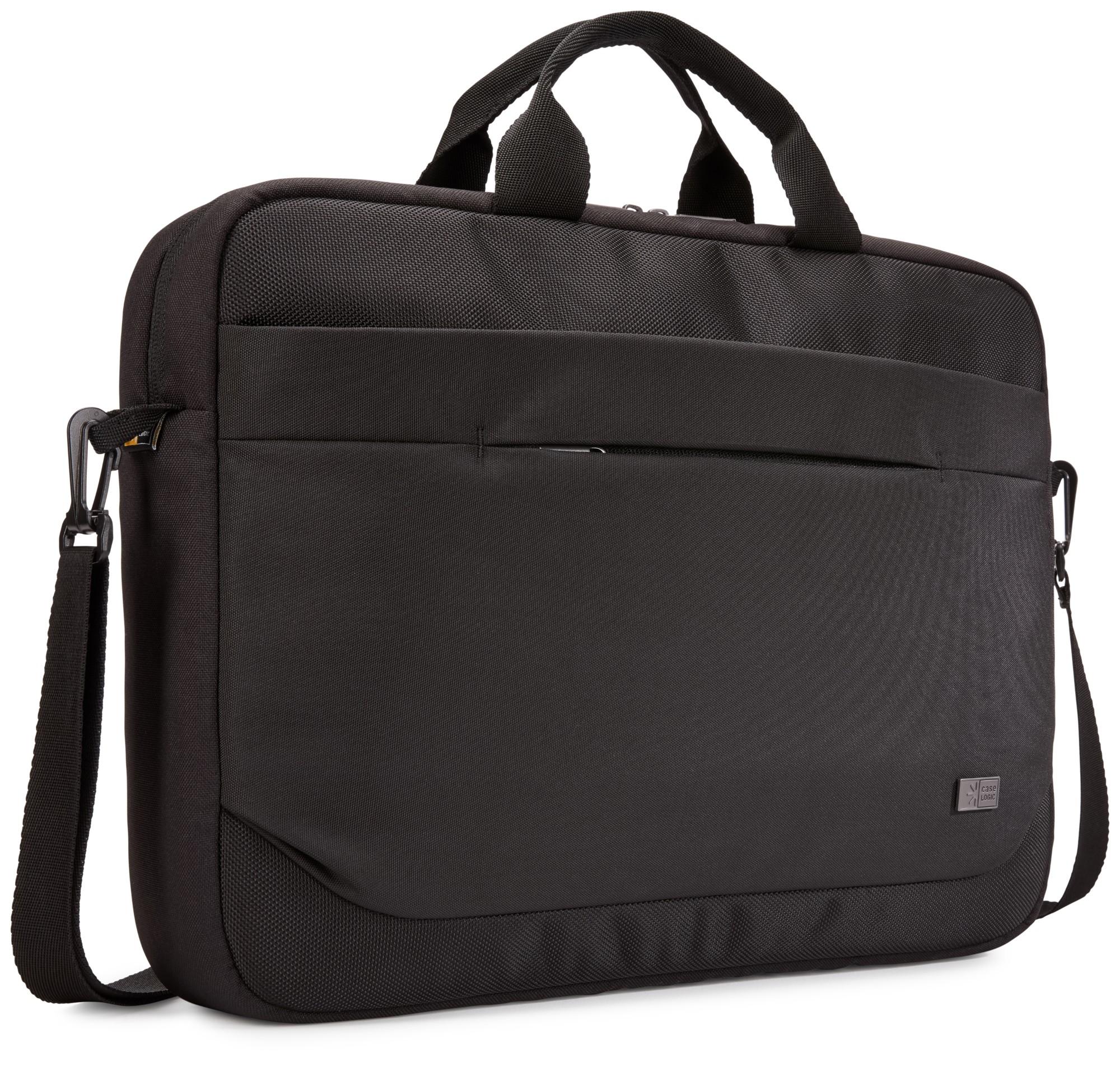 """Case Logic Advantage 15,6"""" Attaché notebook case 39.6 cm (15.6"""") Messenger case Black"""