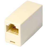 Cables Direct RJ45 (F) to RJ45 (F) White Coupler Adapter