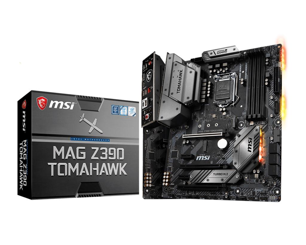 MSI MAG Z390 Tomahawk LGA 1151 (Socket H4) Intel Z390 ATX