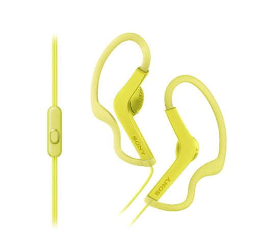 Sony MDRAS210APY mobile headset Binaural Ear-hook Yellow Wired
