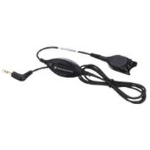 Sennheiser CALC 01 1m Black telephony cable