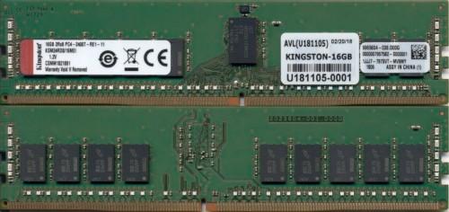 Kingston Technology KSM24RD8/16MEI memory module 16 GB DDR4 2400 MHz ECC