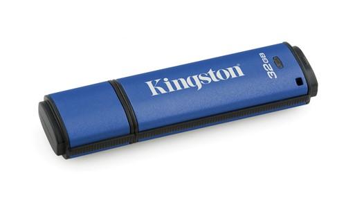 Kingston Technology DataTraveler Vault Privacy 3.0 32GB USB flash drive USB Type-A 3.2 Gen 1 (3.1 Gen 1) Blue