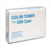 Ricoh 400508 (TYPE 206) Toner cyan, 7.2K pages @ 5% coverage