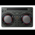 Pioneer DDJ-WEGO4-K DJ controller Black 2 channels