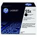 HP CE255X (55X) Toner black, 12.5K pages