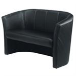 Avior Tub 2 Seat Chair Black
