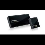 iogear GWHDMS52 AV transmitter & receiver Black AV extender