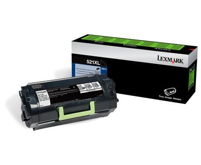 Lexmark 52D2X0L (522XL) Toner black, 45K pages