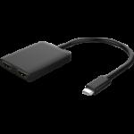 BLUPEAK USB-C TO DUAL HDMI 4K2K ADAPTER (2 YEAR WARRANTY)