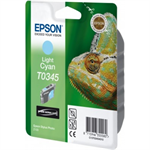 Epson C13T03454010 (T0345) Ink cartridge bright cyan, 440 pages, 17ml