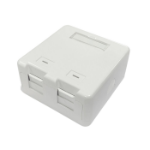Lanview LVN127767 socket-outlet 2 x RJ-45 White