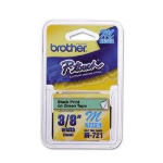 Brother M-721 P-Touch Ribbon, 9mm