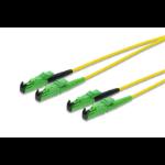 ASSMANN Electronic AL-9E2000-25I-DM Glasvezel kabel 25 m LSZH OS2 E-2000 (APC) Geel