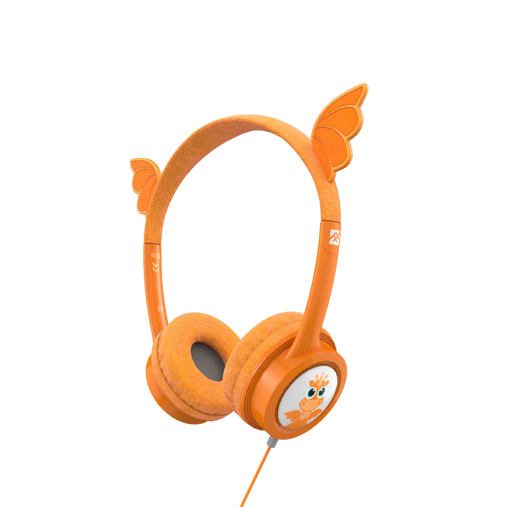 IFROGZ 304101848 auricular y casco Auriculares Diadema Naranja