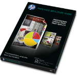 HP PageWide Glossy Brochure papier voor inkjetprinter A3 (297x420 mm) Glans 100 vel Wit