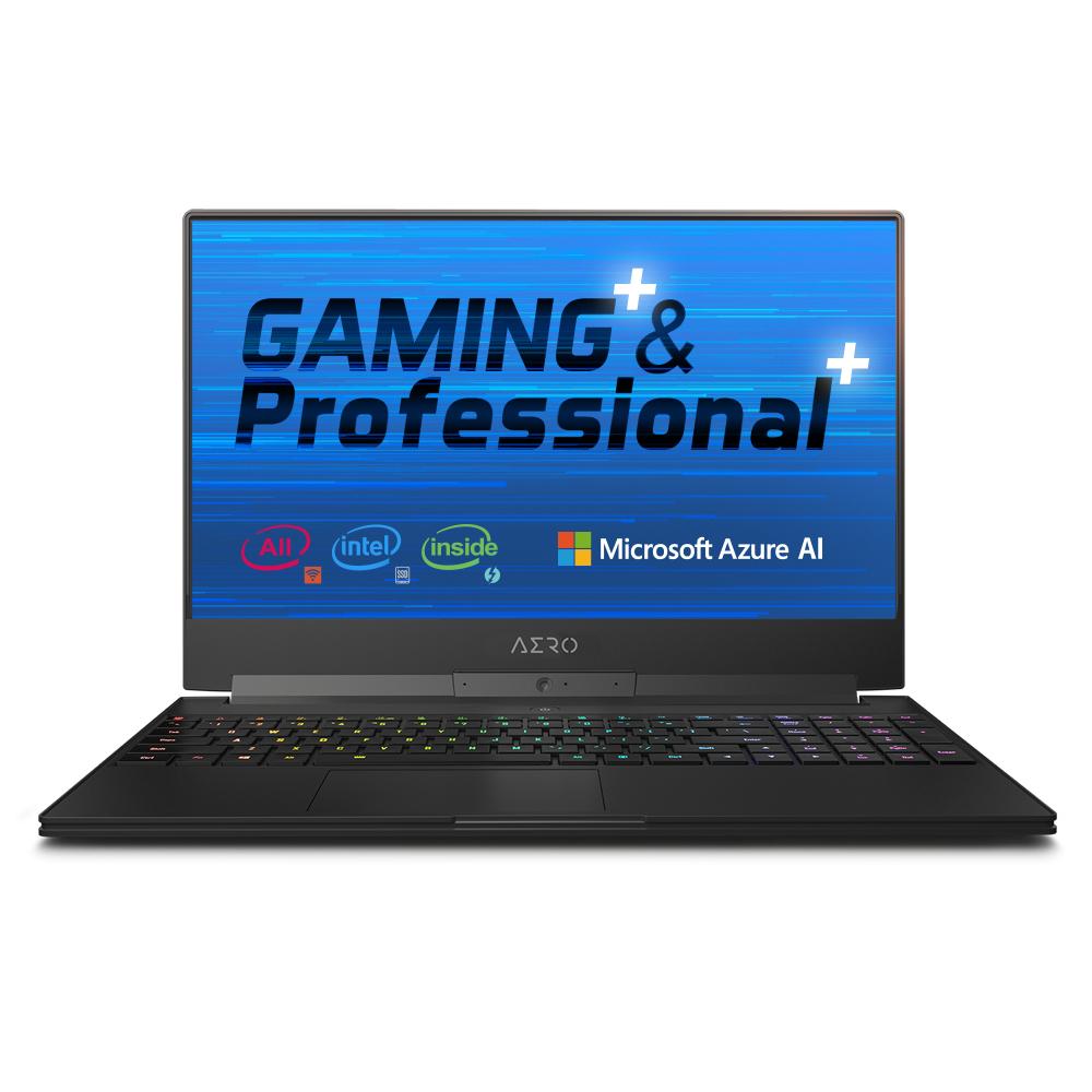 "Gigabyte AERO 15-X9 Black Notebook 39.6 cm (15.6"") 1920 x 1080 pixels 2.20 GHz 8th gen Intel® Core™ i7 i7-8750H"