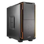be quiet! Silent Base 600 Midi ATX Tower Orange,Black