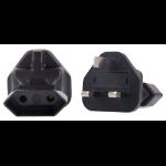 InLine EU 2 Pin to UK Plug Adapter