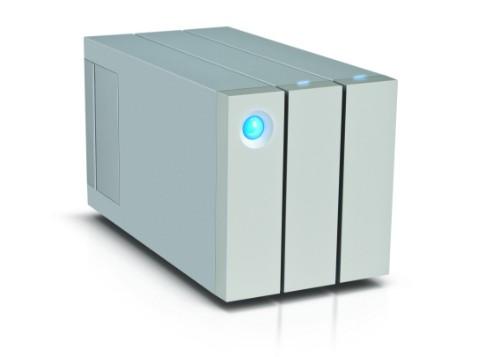 LaCie 2big Thunderbolt 2 disk array 8 TB Desktop Silver