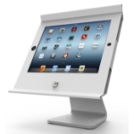 Maclocks Slide Pro M iPad Mini POS Kiosk White