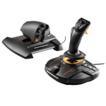 Thrustmaster T.16000M FCS Hotas Joystick Mac,PC Analogue / Digital USB Black,Orange