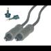 MCL Cable Optic Toslink Audio 2.0m cable de audio 2 m Negro