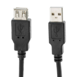 VCOM CU202-B-1.8 USB cable 1.8 m 2.0 USB A Black
