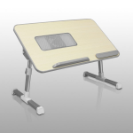 Aluratek ACT01F Silver notebook arm/stand