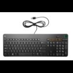 HP K8P74AA keyboard USB Black