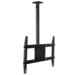 "Ergotron Neo-Flex flat panel ceiling mount 65"" Black"