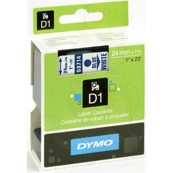 Dymo 53714 (S0720940) DirectLabel-etikettes, 24mm x 7m