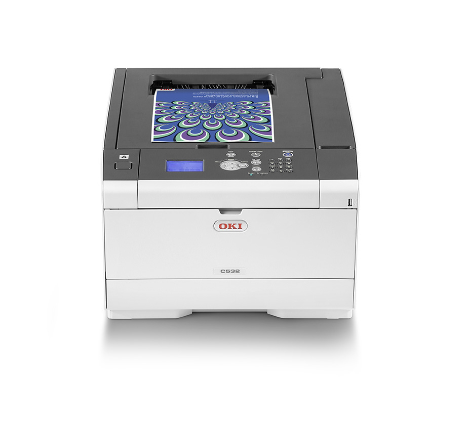 C532dn - Color Printer - LED - A4 - USB / Ethernet / Wi-Fi