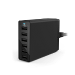 Anker PowerPort 6 Indoor Black mobile device charger