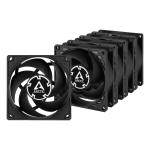 """ARCTIC P8 Computer case Fan 3.15"""" (8 cm) Black"""
