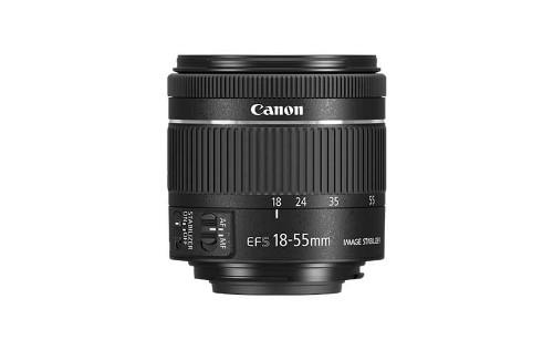 Canon EF-S 18-55mm f/4-5.6 IS STM SLR Standard zoom lens Black