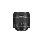 Canon EF-S 18-55mm f/4-5.6 IS STM SLR Standard zoom lens Black