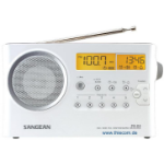 Sangean PR-D4 Digital radio Portable Silver