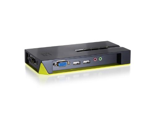LevelOne 4-Port USB VGA , audio support