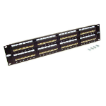 Belkin 48-Port Angled CAT 5e Patch Panel Black network equipment chassis