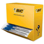 BIC Cristal Medium Stick ballpoint pen Medium Blue 100pc(s)