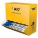 BIC Cristal Medium Stick ballpoint pen Medium Blue 100pc(s)