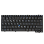 HP 419171-B71 QWERTY Finnish, Swedish Black keyboard