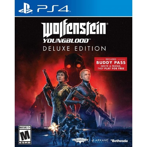 Bethesda Wolfenstein: Youngblood - Deluxe Edition, PS4 PlayStation 4 English