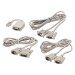 APC AP98275 cable de serie Blanco DB9