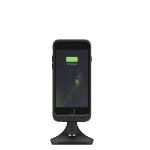 mophie Charge force desk mount Mobile phone/Smartphone Black Active holder